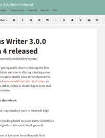 Fidus Writer   Fidus Writer 3.0.0 beta 4 released